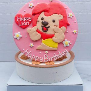 小獅子造型蛋糕推薦,Q版獅子生日蛋糕宅配分享