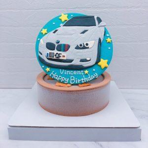BMW車子生日蛋糕推薦,寶馬汽車客製化造型蛋糕宅配