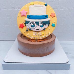 Q版怪盜基德造型蛋糕推薦,客製化生日蛋糕宅配分享