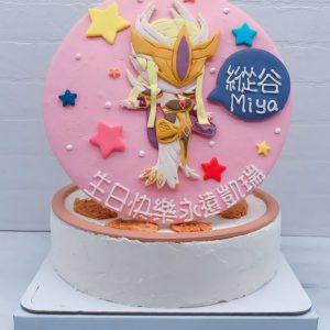 盧蜜亞造型蛋糕推薦,傳說對決生日蛋糕宅配