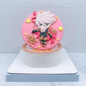 Q版迦爾納生日蛋糕推薦,客製化造型蛋糕宅配分享