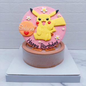 超可愛皮卡丘造型蛋糕推薦,寶可夢卡通生日蛋糕宅配