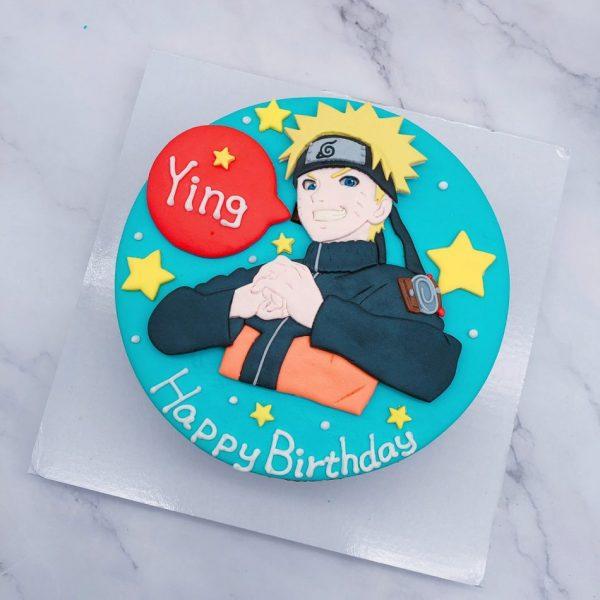 火影忍者造型生日蛋糕,漩渦鳴人生日蛋糕宅配分享