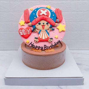 喬巴生日蛋糕推薦,海賊王卡通造型蛋糕宅配