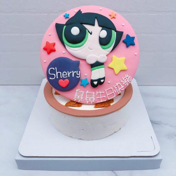 飛天小女警造型蛋糕推薦,毛毛生日蛋糕宅配分享