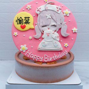 Q版護士生日蛋糕推薦,卡通造型蛋糕宅配分享