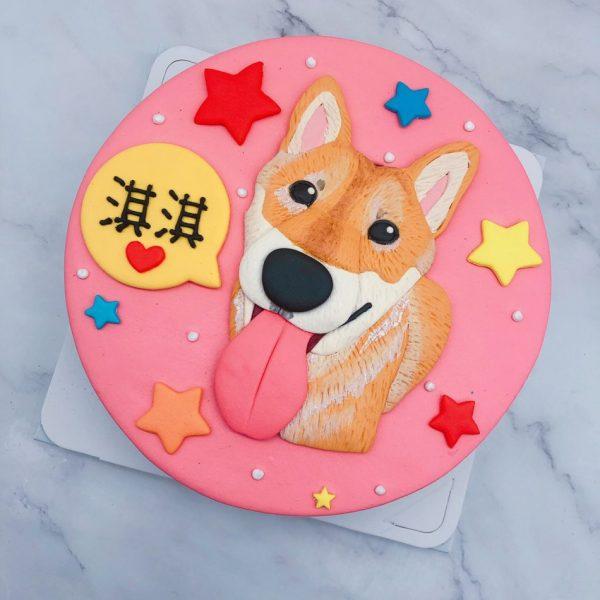 柴犬造型蛋糕推薦,客製化寵物生日蛋糕宅配分享