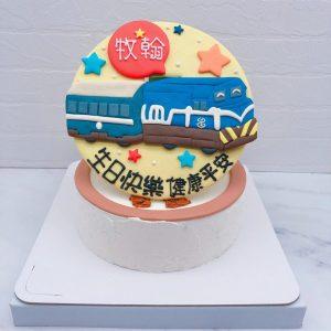 火車生日蛋糕推薦,客製化火車造型蛋糕宅配