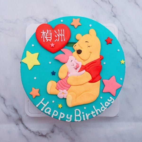 小熊維尼生日蛋糕推薦,小豬造型蛋糕宅配分享